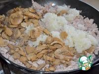 Мясная запеканка с овощным пюре ингредиенты