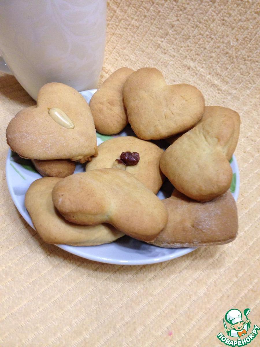 Рецепт печенья из манки пошагово