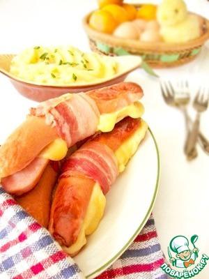 Рецепт: Колбаски по-эльзасски