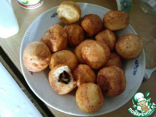 творожные пончики в аэрогриле рецепт жж
