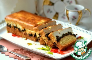 Рецепт: Кекс с творогом и черносливом