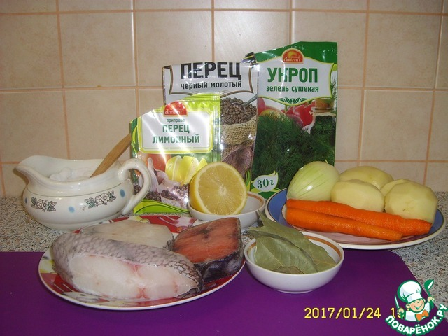 Рыба с зеленью рецепт