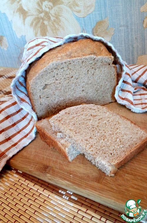 Хлеб из цельнозерновой муки рецепт без дрожжей