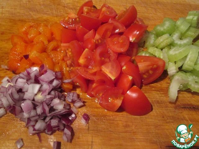 рецепт салат фасоль и перец