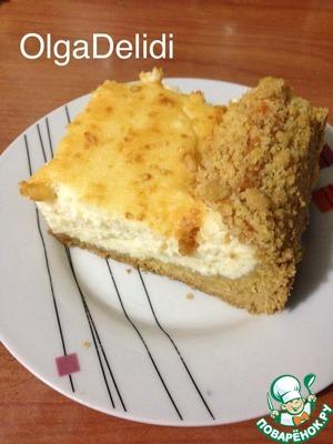 творожный пирог нежность рецепт