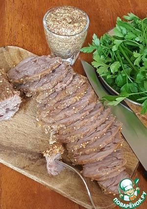 говядина в духовке рецепт вкусный