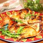 Цыплята, маринованные в лимонно-масляном маринаде