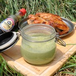 Соус со шпинатом для гриля