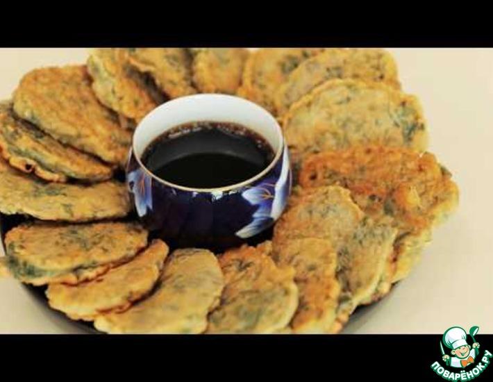 Рецепт: Лепешки из полыни