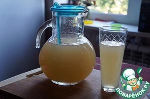 Лимонад домашний с грейпфрутом