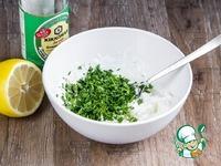 Соус с фетой к овощам-гриль ингредиенты