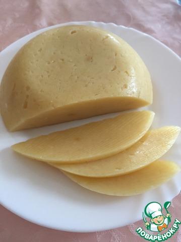 Сыр плавленный на кефире