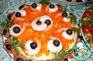 Блинные закусочные торты поваренок