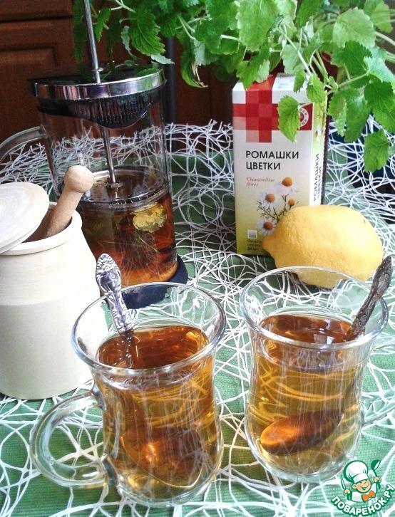 Как заваривать чай ромашка
