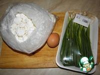 Сырники с зеленым луком и яйцом ингредиенты