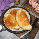Сырники с зеленым луком и яйцом