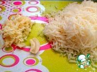 Окорочка с сыром и картофелем в фольге ингредиенты