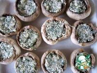 Шампиньоны с адыгейским сыром ингредиенты
