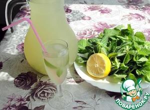 Рецепт: Лимонад домашний с мятой