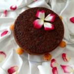 Кекс творожно-манный с абрикосом и бананом