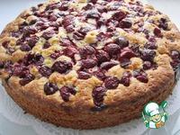 Бисквитный вишневый пирог ингредиенты