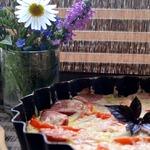 Сочная запеканка из капусты и кабачков