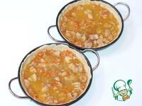 Струли с луком, морковью и курицей ингредиенты