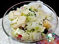 Салат из пекинской капусты с курицей ингредиенты