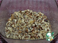 """Яблочный пирог с орехами """"Рассвет"""" ингредиенты"""