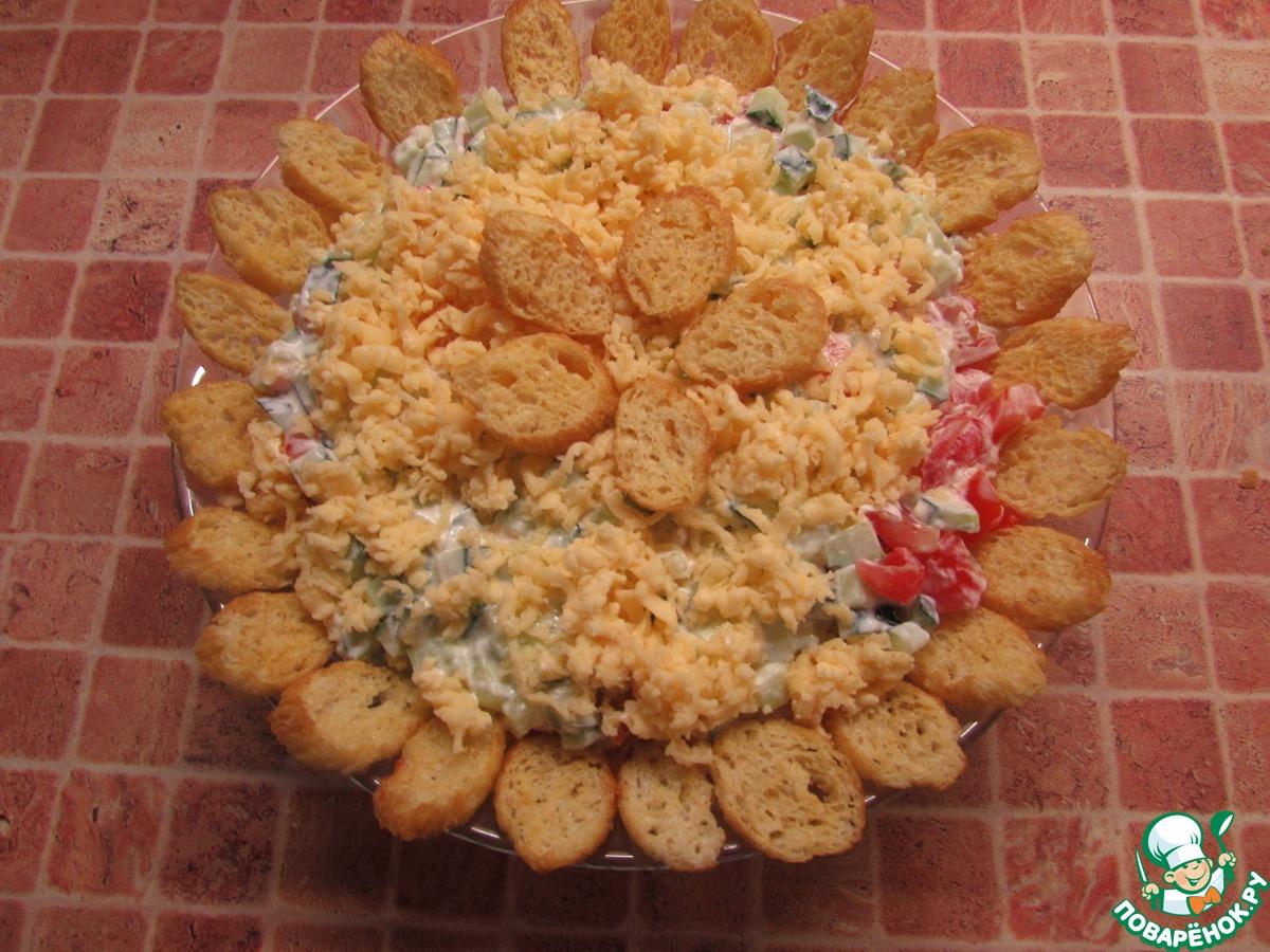 Салат сугроб здоровья пошаговый рецепт