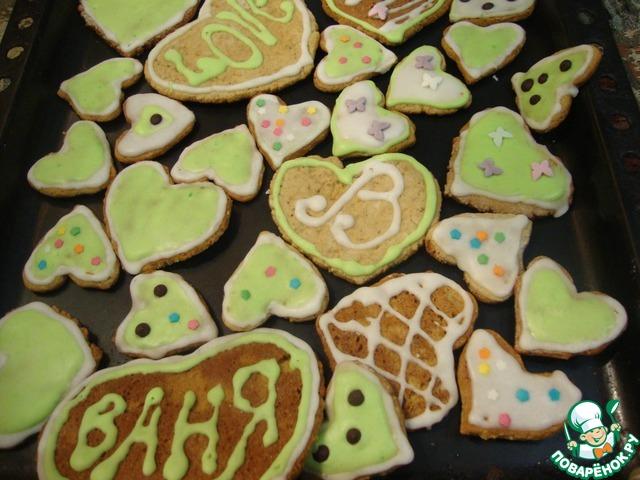 рецепт шведского печенья с корицей и имбирем