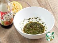 Кабачки-гриль с колбасками и сыром ингредиенты
