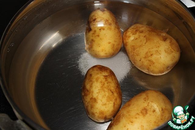 Картошка с кабачками пошагово