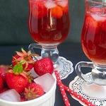 Клубнично-базиликовый чай