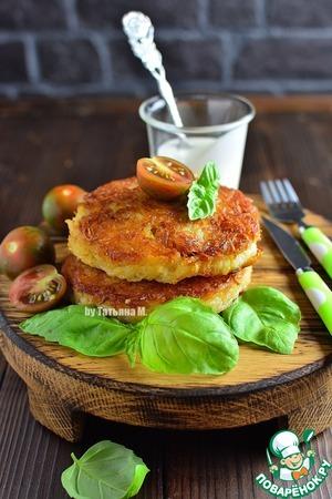 Рецепт: Картофельные бургеры с мясной начинкой