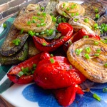 Запечённые овощи на гриле