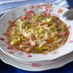 Суп с фасолью и фенхелем