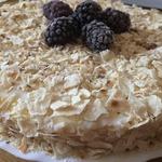 Ленивый низкокалорийный торт Наполеон
