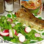 Рыба с картофельной начинкой