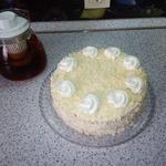 """Бисквитный торт """"Нежность"""""""