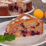 Цельнозерновой ягодный пирог
