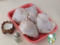 Куриные бедрышки с молодым картофелем ингредиенты