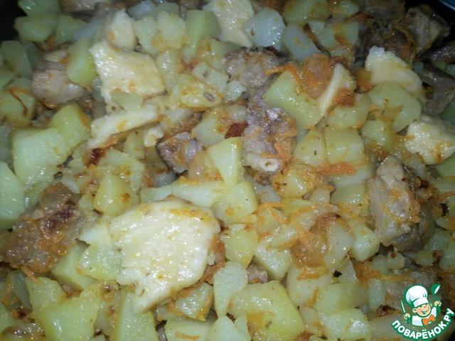 Галушки украинские с мясом рецепт 186