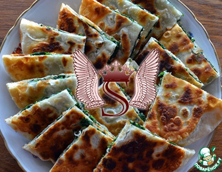 Рецепт: Критские лепешки с фенхелем