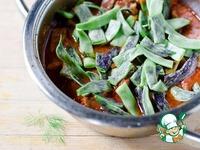 Гуляш из свинины с зеленой фасолью ингредиенты