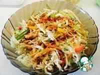 Корейский салат с курицей и овощами ингредиенты