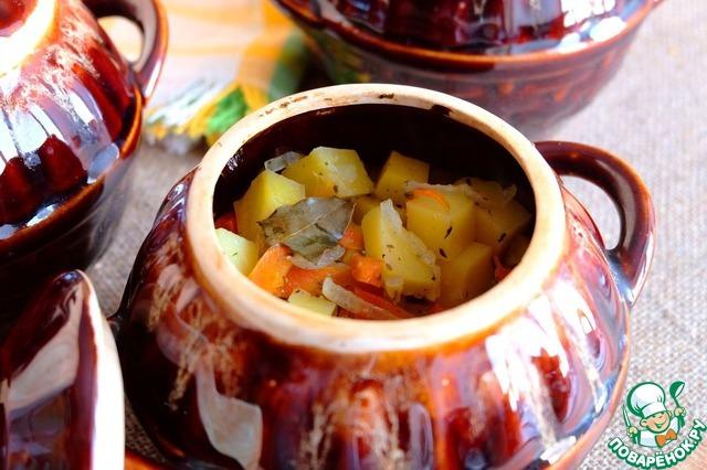 Жаркое в горшочках из индейки в духовке рецепт