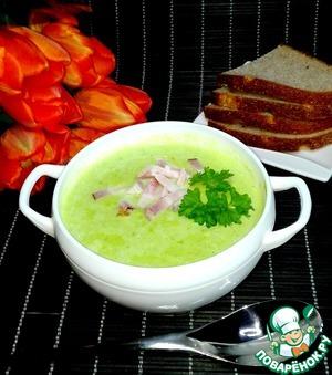 суп пюре с зеленого горошка рецепт с фото