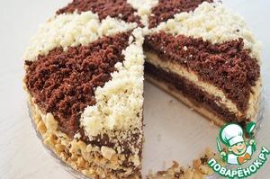 """Торт """"Нежный сметанник"""""""