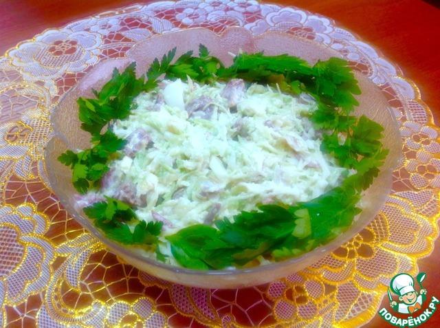 простые рецепты салатов c фото